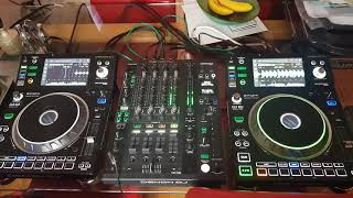 Denon sc5000 and x1800 mixer