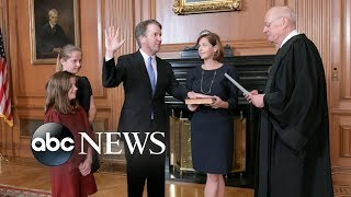Brett Kavanaugh confirmed as Supreme Court Justice