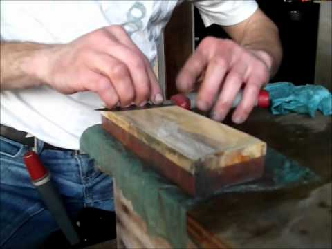 (Bushcraft) Sharpening a Mora High Q
