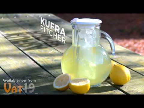 Kufra Pitcher with Ice Tube Insert