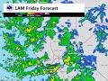 Updated Precipitation Forecast: December 10th, 2015