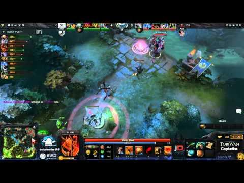 Invictus Gaming vs DK Game 1 - SinaCup China Dota 2 WB Semi Final - TobiWan & Capitalist