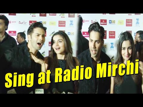Varun Dhawan & Alia Bhatt  Sing at Radio Mirchi  Awards