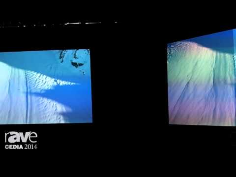 CEDIA 2014: Draper Shows Off New TecVision Screen Materials for the Residential Market