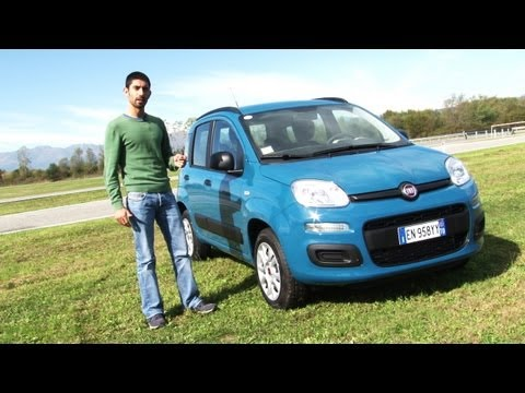 Nuova Fiat Panda Natural Power a metano - Prova Test Drive
