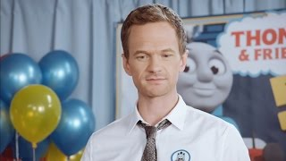 Neil Patrick Harris' Thomas & Friends Obsession