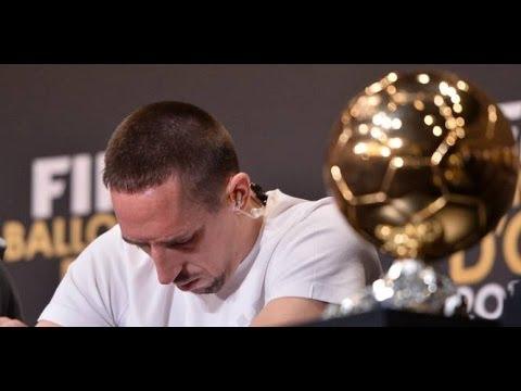 Ribéry - Réactions après la victoire du Ballon d'Or de Cristiano Ronaldo