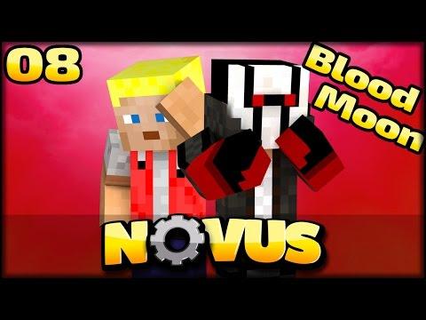 BLOOD MOON in NOVUS - jetzt gehts ab | Minecraft NOVUS #08