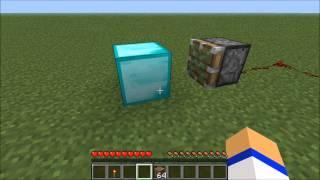 Minecraft: How to make a diamond generator!