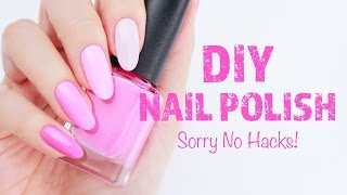 ♡ How to Make DIY Franken Nail Polish ♡