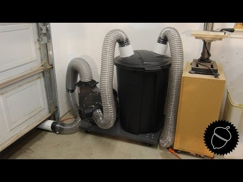 How to Make a 2 Stage Dust Collector   The Easy Way!