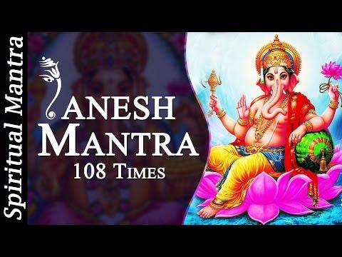 Om Gam Ganapataye Namaha 108 Times Ganesh Mantra