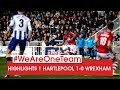 Hartlepool Wrexham Goals And Highlights