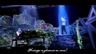 (Live) Song Ji Eun ft Bang Yong Gook - Going Crazy (рус.саб)