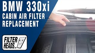 How to Replace Cabin Air Filter 2003 BMW 330xi