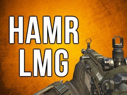 Black Ops 2 In Depth - HAMR LMG Review (Very Unique Weapon)