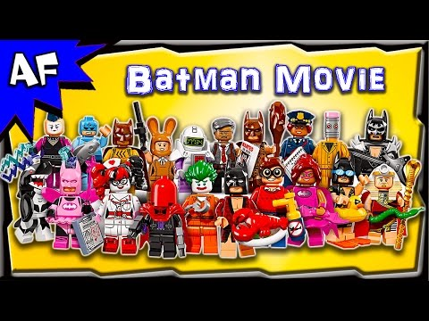 Lego Batman Movie Collectable Minifigures Series 71017 Review