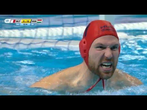 Hungary vs Malta - Euro Waterpolo Men Champ. 2020 - Preliminary, Day 3