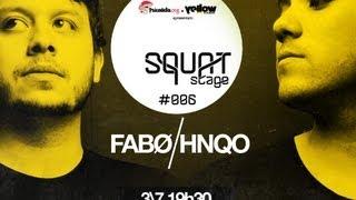 [Yellow DJ Academy] Squat Stage #006 | Fabø e HNQO (DJ Set)