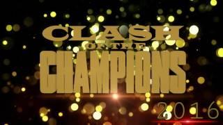WWE CLASH OF CHAMPIONS 2016 Match-Card