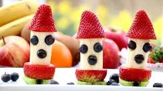 Creative Food Ideas for Kids | Art In Fruit & Vegetable Carving Lessons