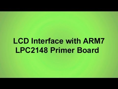 Arm7 Lpc2148 Projects Arm7 Lpc2148 Primer Board