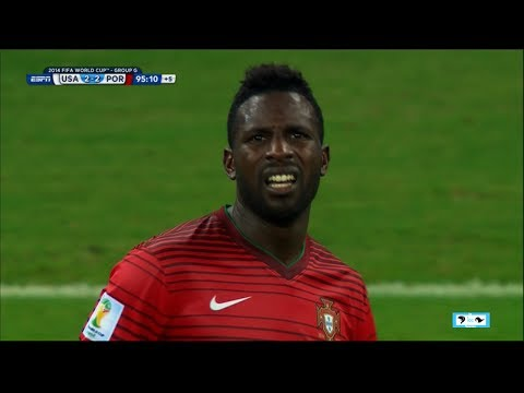WORLD CUP - Portugal Varela from Ronaldo Game Tying Goal | LIVE 6-22-14