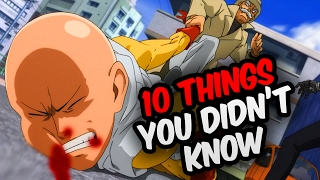 10 Things You Didn't Know About One Punch Man! - One Punch Man Facts & Trivia