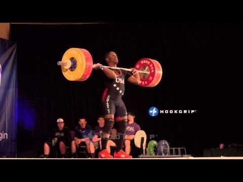 CJ Cummings (69) - 156kg Clean & Jerk U15 Youth American Record