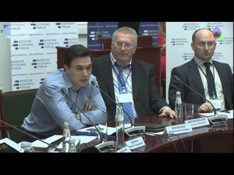 Владислав Жуковский - Бедность РФ. Выступление в МЭФ.