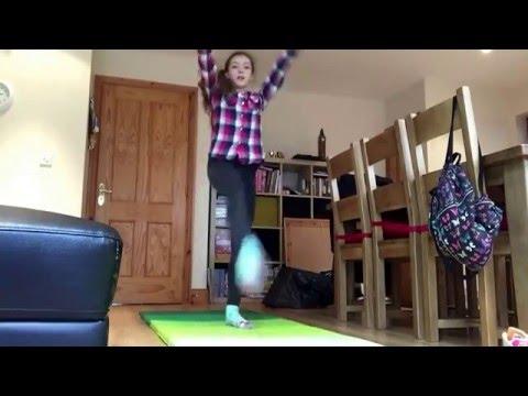 ABC gymnastics challenge.