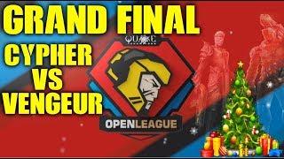 GRAND FINAL CYPHER vs VENGEUR - Quake Open League Season 9 Elite EU