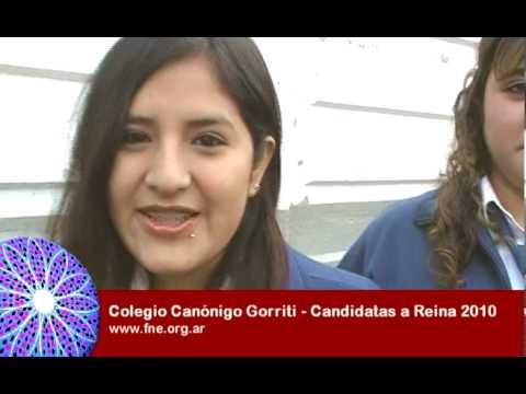 Colegio Canonigo Gorriti - Candidatas a Reina 2010