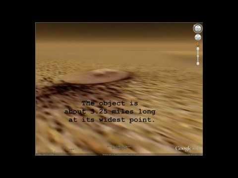 UFO Hovering on Mars Surface.wmv