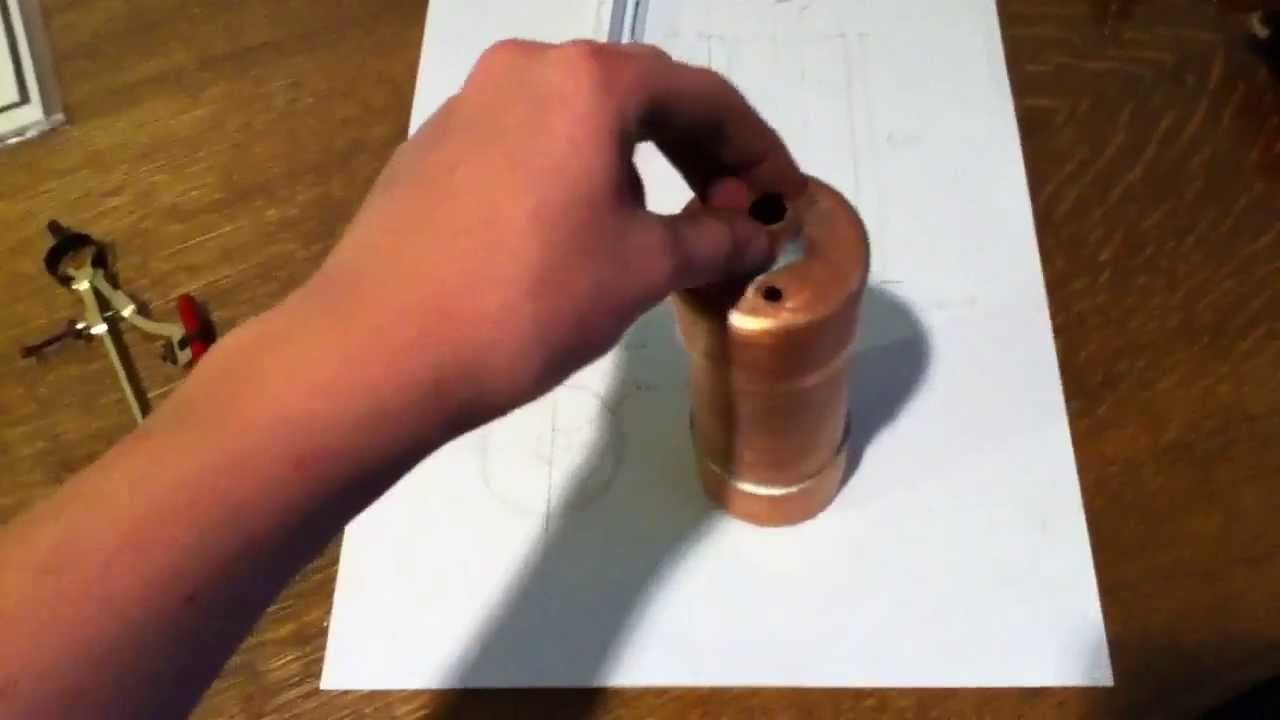 how to make a simple small steam engine at home