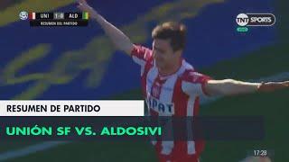Resumen de Unión SF vs Aldosivi (1-0)   Fecha 1 - Superliga Argentina 2018/2019