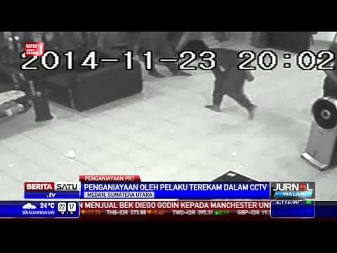 Rekaman CCTV Penyiksaan PRT di Medan