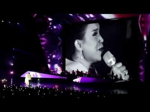 ROSSA & AFGAN - Cinta Dalam Hidupku // Konser Rossa The Journey of 21 Dazzling Years 13 April 2017