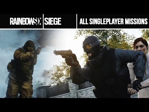 Rainbow 6 Siege - All Situations Missions Walkthrough (All Singleplayer Task) GAMEPLAY