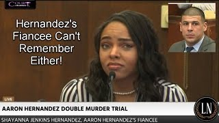 Aaron Hernandez Trial Day 20 Part 1 (Shayanna Jenkins Hernandez Testifies) 03/30/17