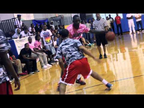 Brandon Austin scores 91 Points! Beyond Blessd Charity Game!