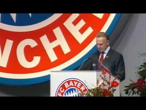 Karl-Heinz Rummenigge - Gedicht für Franz Beckenbauer