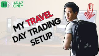 HOW AND WHAT I PACK FOR MY MOBILE / TRAVEL TRADING SETUP