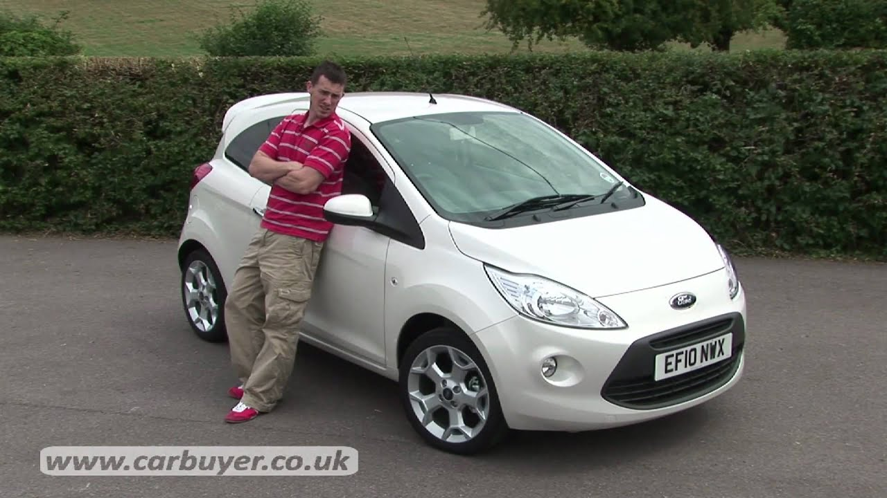 ford ka hatchback review carbuyer youtube. Black Bedroom Furniture Sets. Home Design Ideas