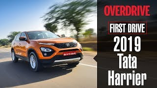 2019 Tata Harrier | First Drive | OVERDRIVE
