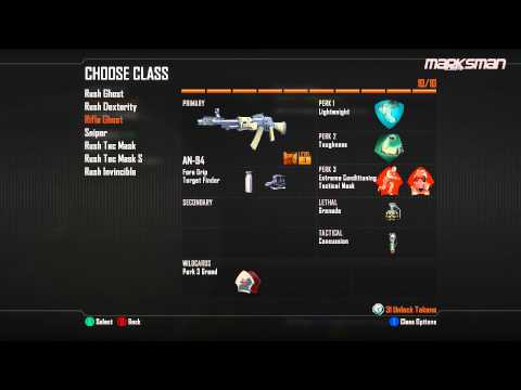 Black Ops 2 SnD Class Setup