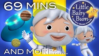 It's Raining It's Pouring | Plus Lots More Nursery Rhymes | 69 Mins Compilation from LittleBabyBum!