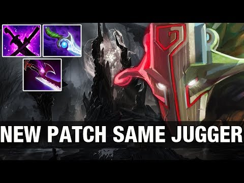 NEW PATCH SAME JUGGER - RAMZES666 10K MMR Plays Juggernaut - Dota 2