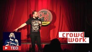 Coreeni si o fata de la Mecanica Fina | Crowd work | Teo Stand-Up Comedy Official