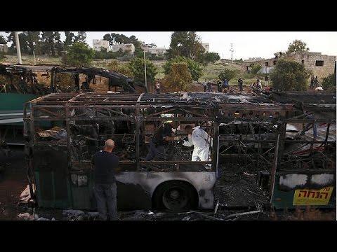 """""""Explosão de autocarro em Jerusalém foi um ataque terrorista"""", garante Benjamin Netanyahu"""